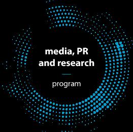 Media, PR and research program