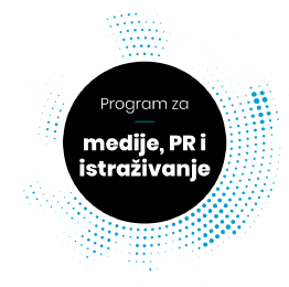 Program za medije, PR i istraživanje